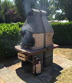Barbecue dans le camping à Royan