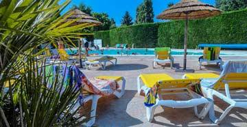 Camping avec piscine chauffée Royan
