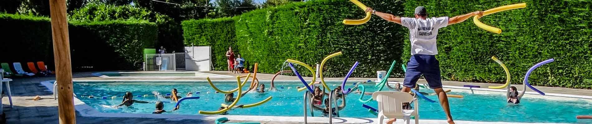 Espace piscine à Royan