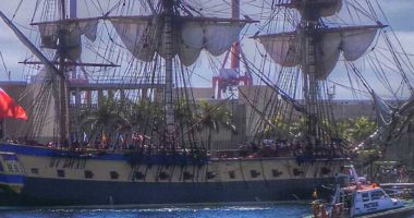 L'Hermione à Rochefort sur Mer