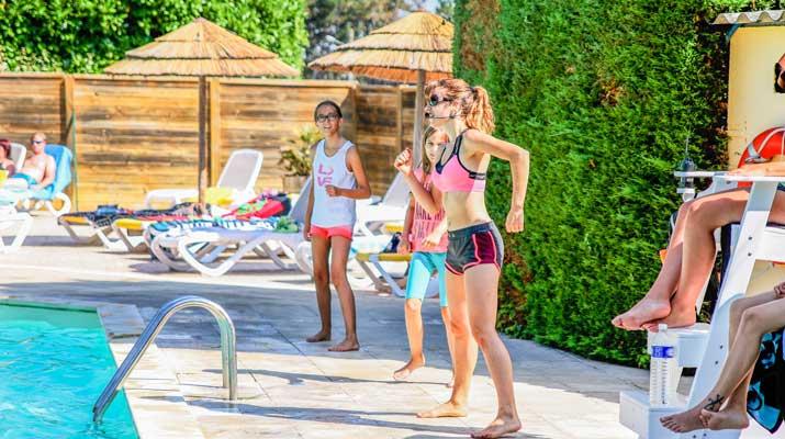 camping avec piscine chaufée à Royan
