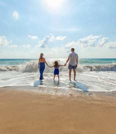 Vacances familiales à la mer à Royan