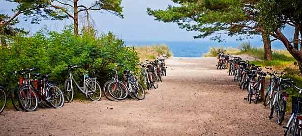 Balade à vélo à Saint Palais sur Mer