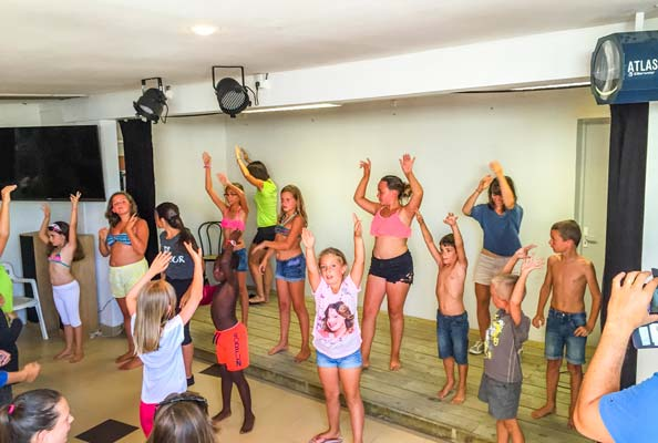 camping animations enfant royan