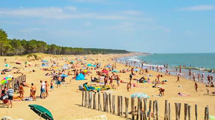 camping proche plage grande cote royan