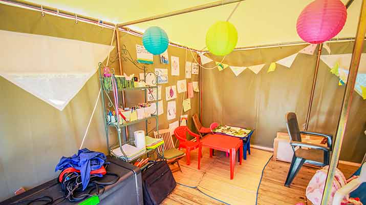 location camping club enfants royan