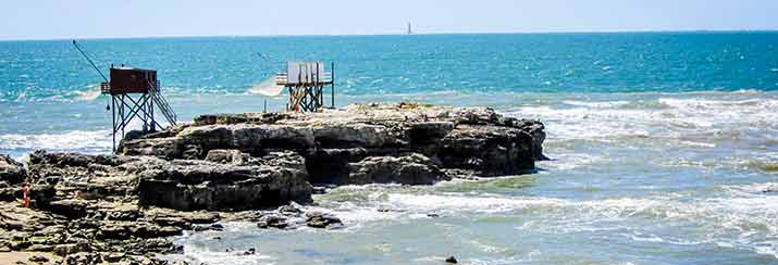 Pêche à Saint Palais sur Mer