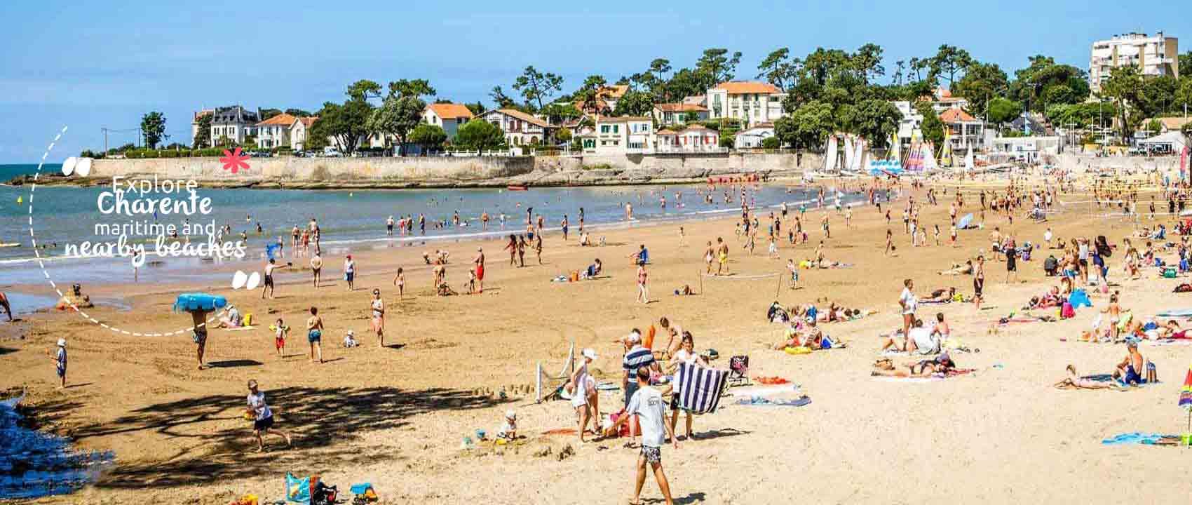 Camping beach Charente Maritime