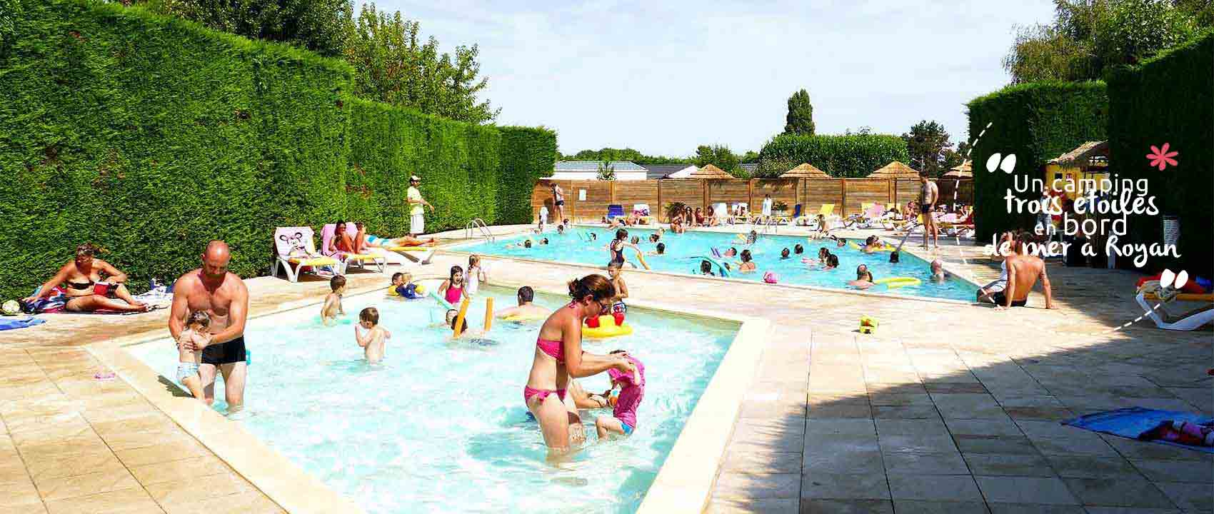 camping piscine royan camping proche plage
