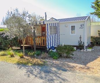 camping mobil-home résidentiel 2ch vendée